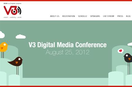 V3 Digital Media Conference