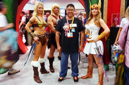 Me and the Masters of the Universe. San Diego Comic Con