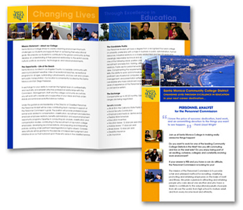 Santa Monica College Brochure